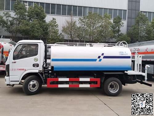2019年5月推荐车型:国六东风5方洒水车