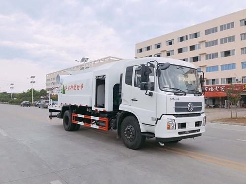 2019年5月推荐车型:东风天锦10方抑尘车