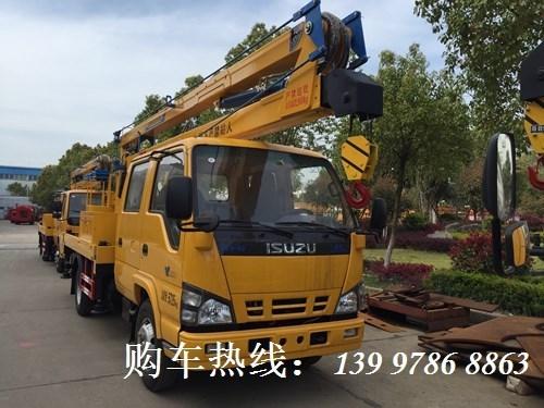 2019年4月推荐产品(一):五十铃16米高空作业车