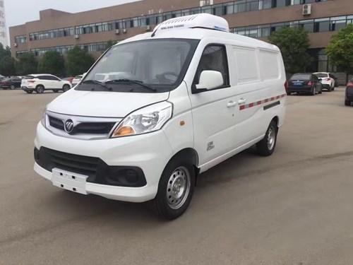 福田IX5面包型冷藏车