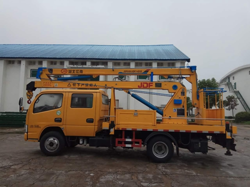 伟德手机客户端app东风16米高空作业车