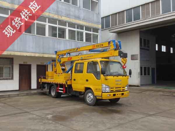 国五庆铃14米高空作业车(98马力)