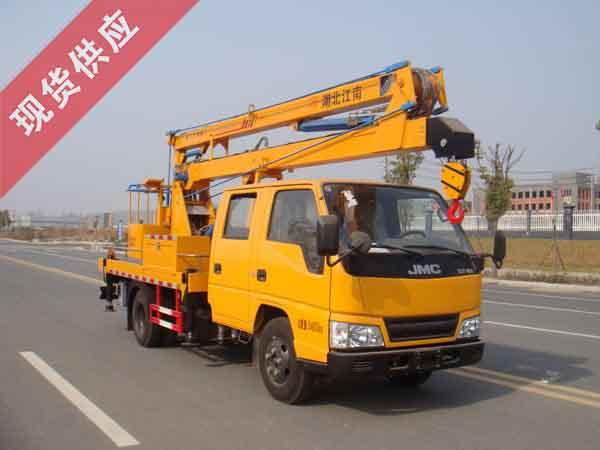 国五江铃双排14米高空作业车