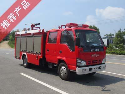 国六庆铃2吨泡沫消防车