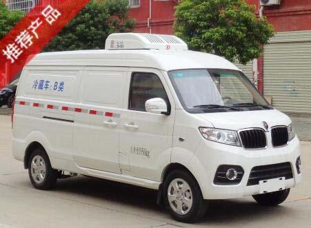 华晨金杯X30L国六汽油面包冷藏车