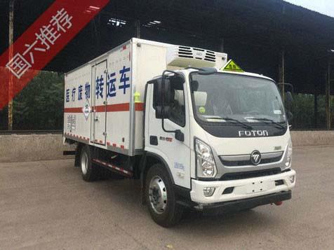 国六福田4吨医疗废物转运车