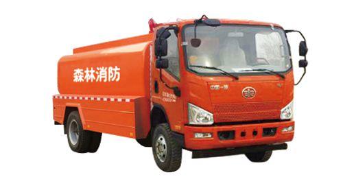 解放四驱5吨越野森林消防洒水车多少钱一辆?