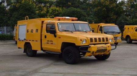 【2021.02.17新车介绍】江特牌JDF5040XXHBAW6型救险车