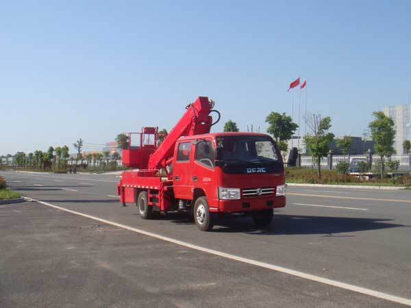 国五东风直臂式14米高空作业车