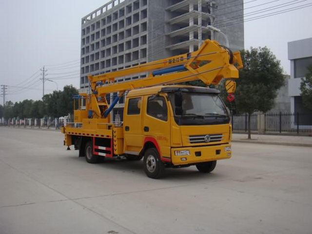 伟德手机客户端app东风18米高空作业车