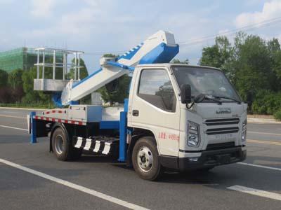 国六江铃16米高空作业车(伸缩臂)