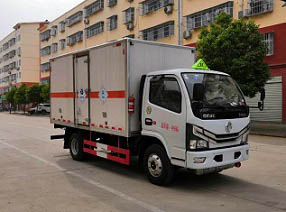 国六东风小多利毒性和感染性物品厢式运输车