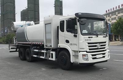 国六东风双桥10吨消毒喷雾车