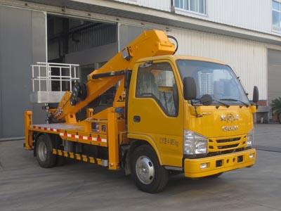 国六庆铃24米直臂式高空作业车