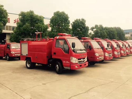 小型乡镇消防车