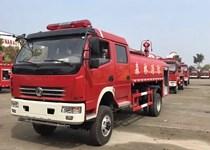 伟德手机客户端app东风双排座5吨消防洒水车