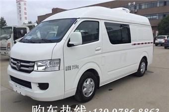 伟德手机客户端app福田G7双排座冷藏车(汽油)