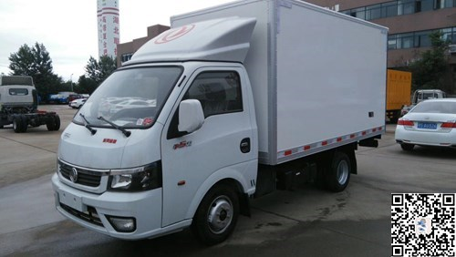 国五东风逸途冷藏车