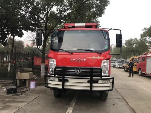 东风凯马四驱森林消防车