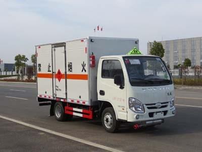 伟德手机客户端app跃进小福星易燃液体厢式运输车