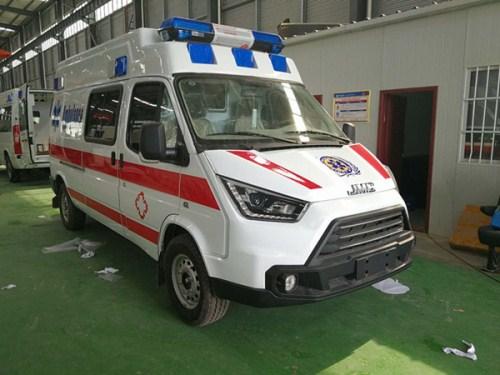 江铃特顺长轴120救护车【运输型|监护型】