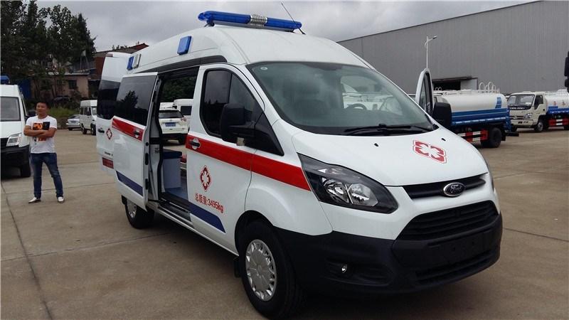 江铃新全顺短轴120救护车