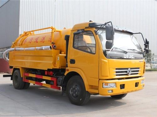 东风大多利卡CLW5110GQW5清洗吸污车