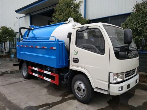 东风多利卡(5方)清洗吸污车